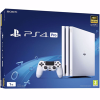 کنسول بازی سونی مدل Playstation 4 Pro White Glacier Region 2 - CHU7016B